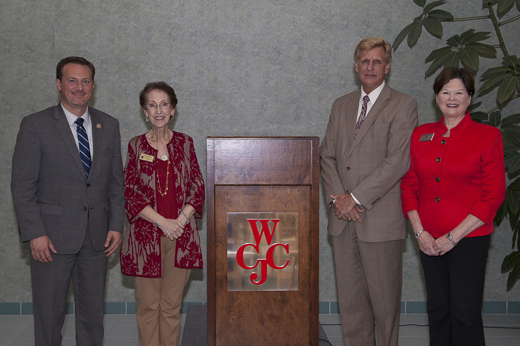 ONGOING SUPPORT - WCJC event recognizes legislators for support of education