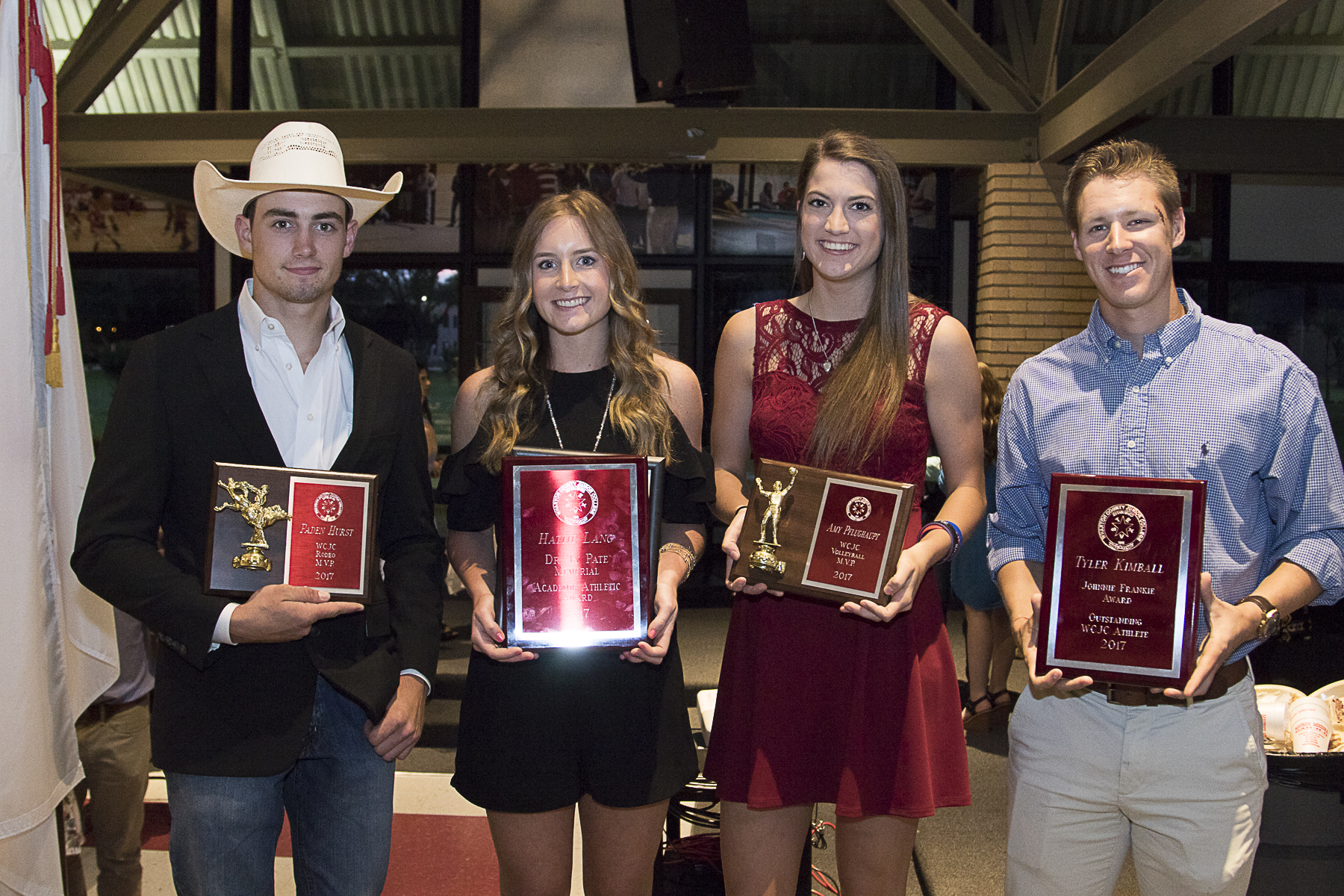 Special recognition was given to Wharton County Junior College athletes during the recent Athletic Banquet,