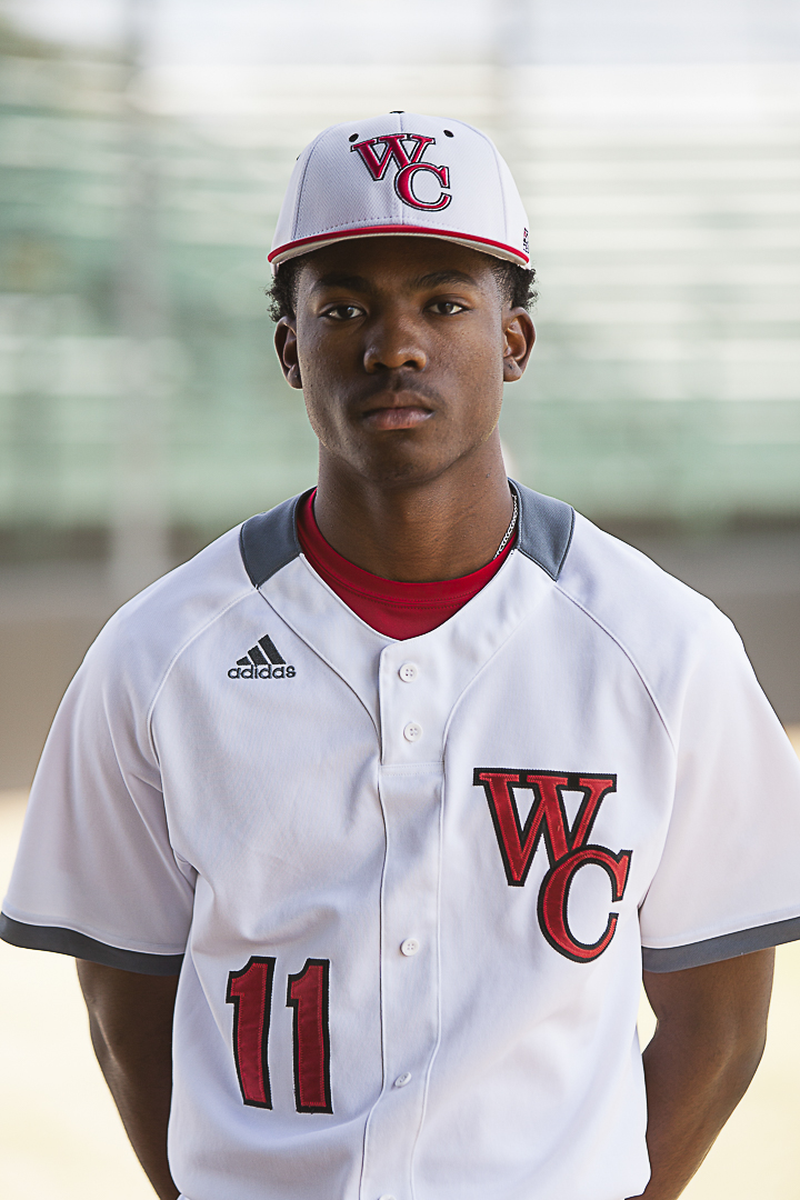 Wharton County Junior College outfielder Spencer Griffin of Richmond was chosen as the baseball team's Most Valuable Player for the 2017 season.