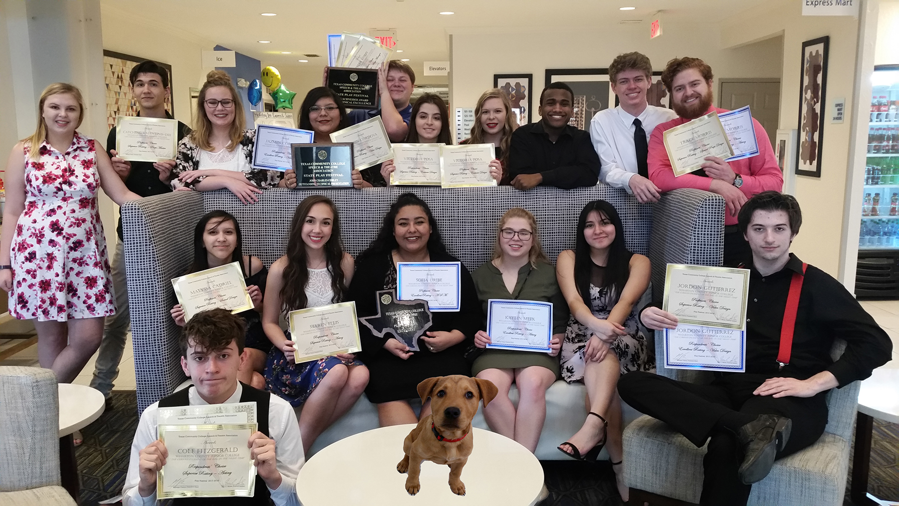 AN IMPRESSIVE PERFORMANCE WCJC Drama students earn 22 awards at play festival